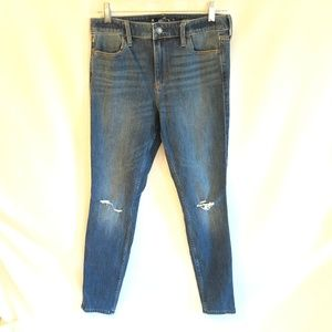 Hollister Size 9R 29x30 Extreme Skinny Jeans
